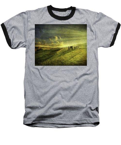 Days Done Baseball T-Shirt by Mark T Allen