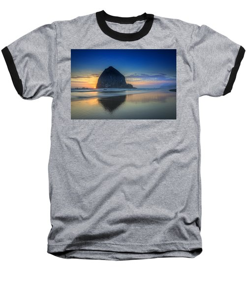 Day's End In Cannon Beach Baseball T-Shirt