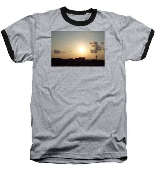 Days End Baseball T-Shirt by Jake Hartz
