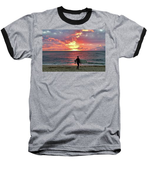 Day's End On The North Shore Baseball T-Shirt