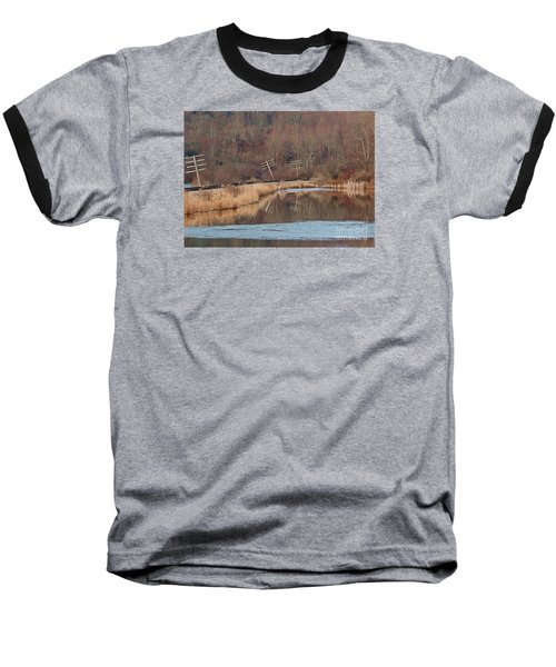 Baseball T-Shirt featuring the photograph Days Gone Bye by Christian Mattison