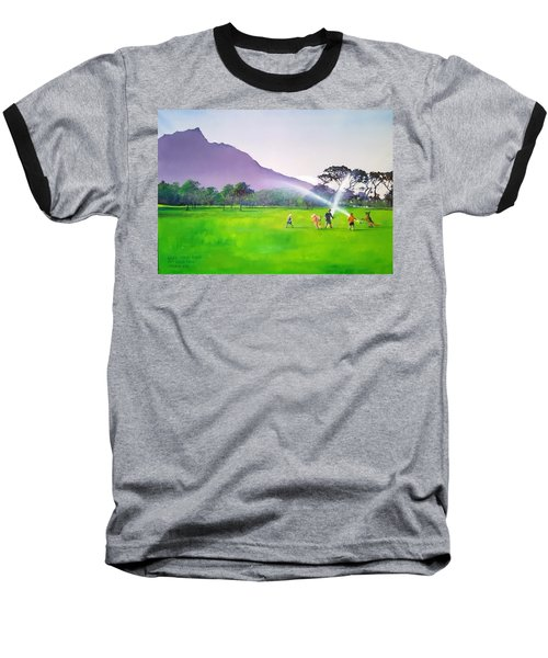 Days Like This Baseball T-Shirt by Tim Johnson