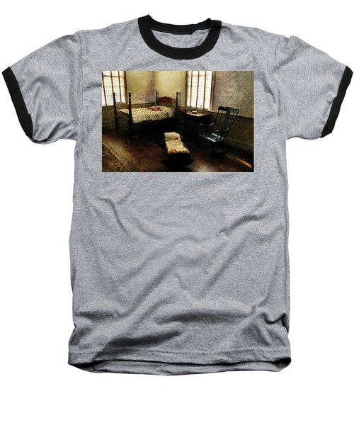 Baseball T-Shirt featuring the photograph Days Of Old by Jessica Brawley
