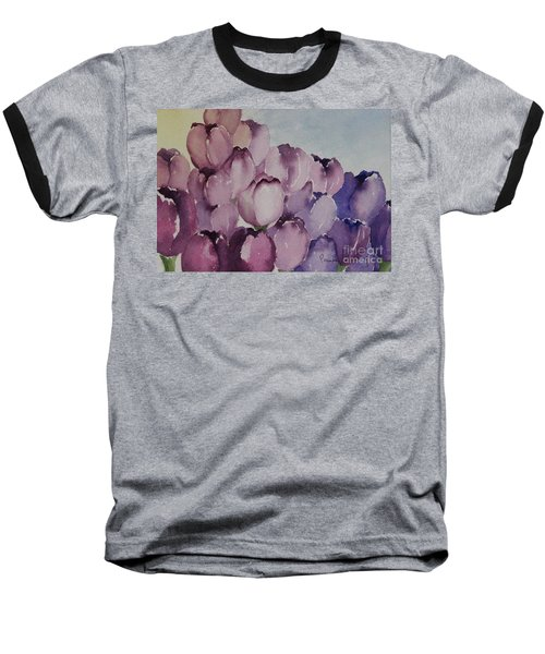 Days Of Wine And Tulips Baseball T-Shirt