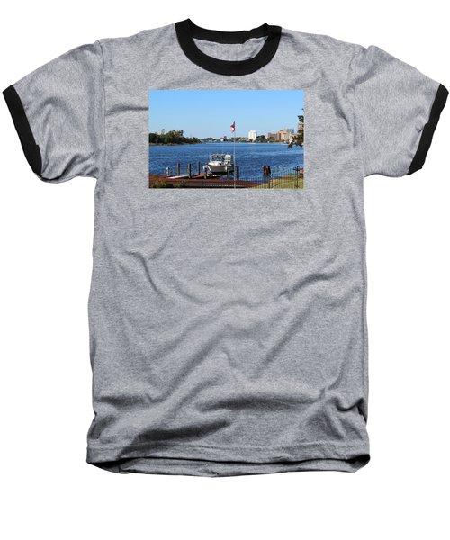 Daytime Beauty  Baseball T-Shirt by Cynthia Guinn