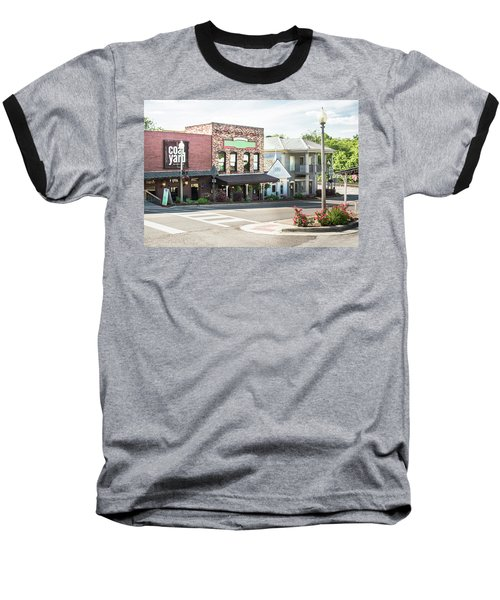 Baseball T-Shirt featuring the photograph Daytime In Old Town Helena by Parker Cunningham