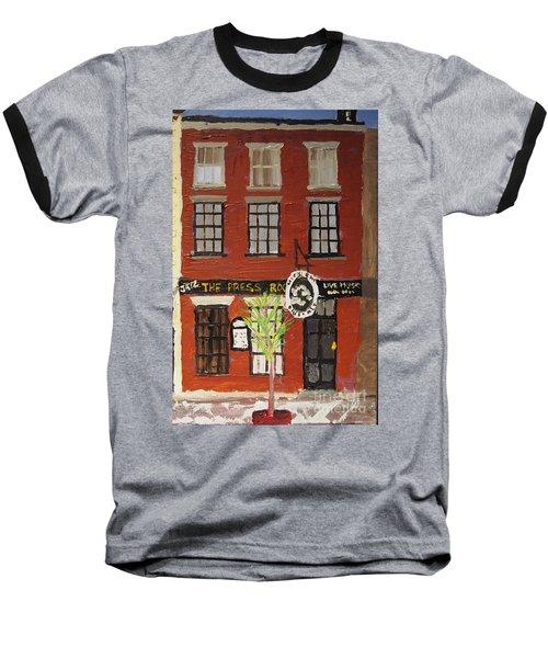 Daytime Press Room Baseball T-Shirt