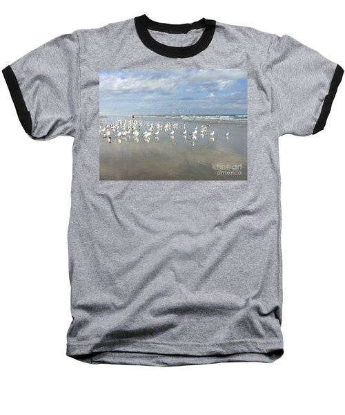 Daytona Beach 2 Baseball T-Shirt