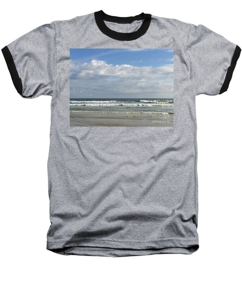Daytona Beach 3 Baseball T-Shirt