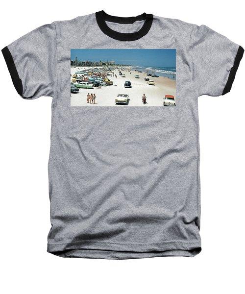 Daytona Beach Florida - 1957 Baseball T-Shirt