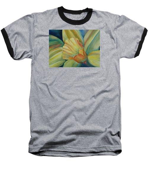 Dazzling Daffodil Baseball T-Shirt