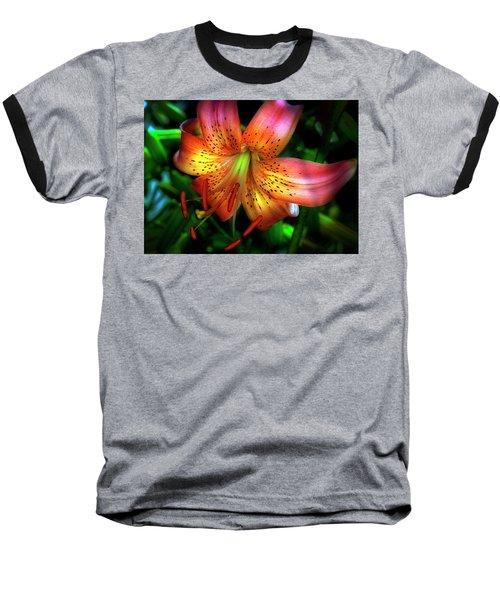 Dazzling Daylily  Baseball T-Shirt