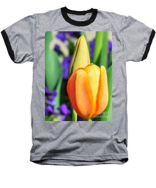 Dazzling Tulip Baseball T-Shirt