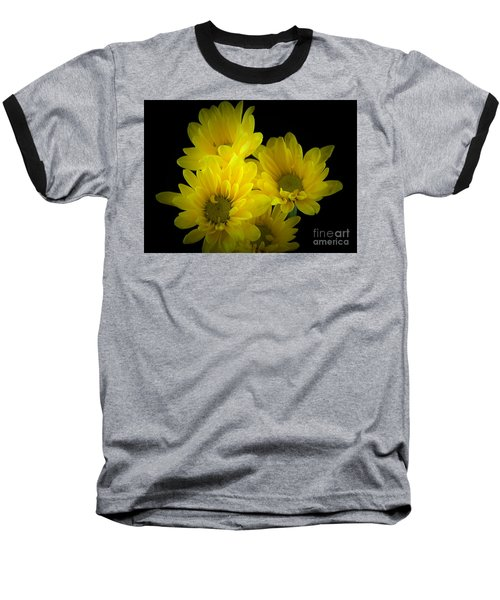 Dazzling Yellow Baseball T-Shirt