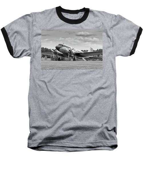 Dc-3 On Grass Baseball T-Shirt