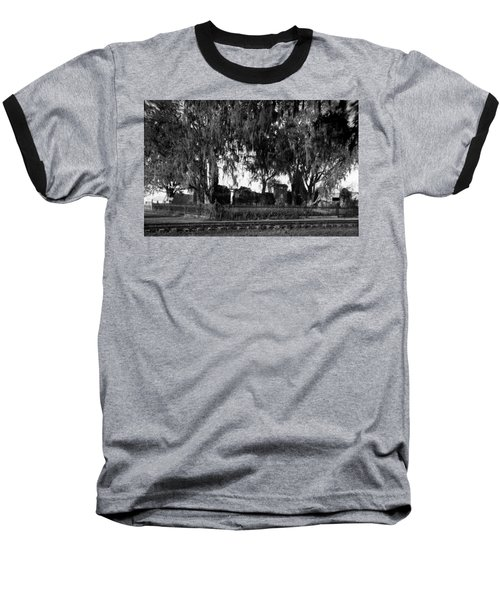 De La Ronde Plantation Home Ruins Baseball T-Shirt