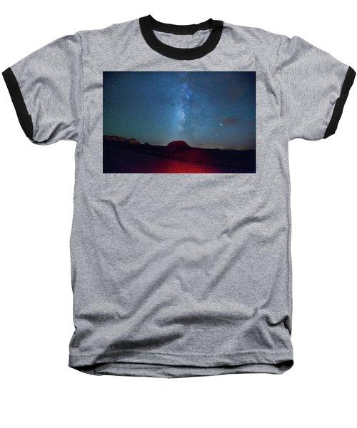 De Na Zin Milky Way Baseball T-Shirt