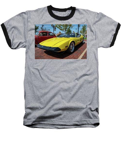 De Tomaso Pantera Baseball T-Shirt