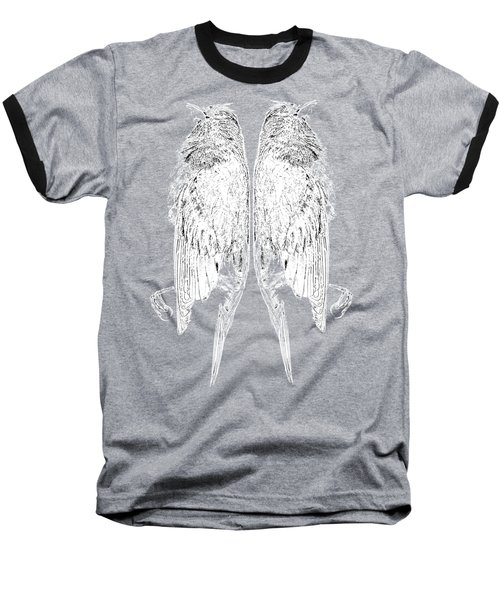 Dead Birds Tee White Baseball T-Shirt