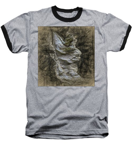 Baseball T-Shirt featuring the photograph Dead Leaf by Vladimir Kholostykh