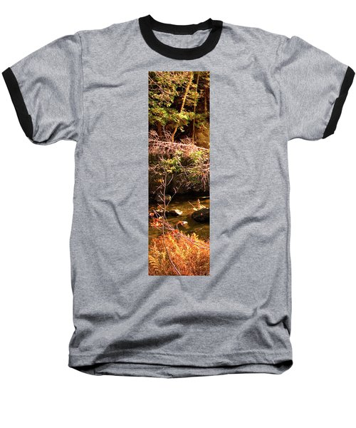 1 Of 6 Dead River Falls  Marquette Michigan Section Baseball T-Shirt