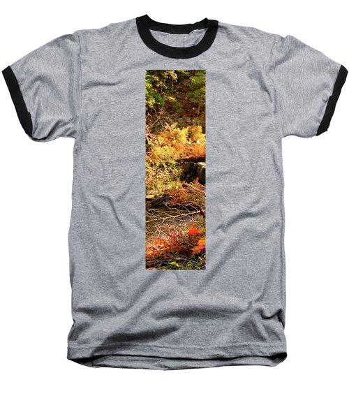 3 Of 6 Dead River Falls  Marquette Michigan Section Baseball T-Shirt