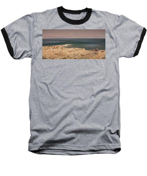 Dead Sea Coastline 1 Baseball T-Shirt