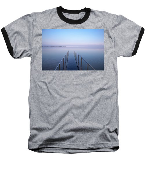 The Dead Sea Baseball T-Shirt by Yoel Koskas
