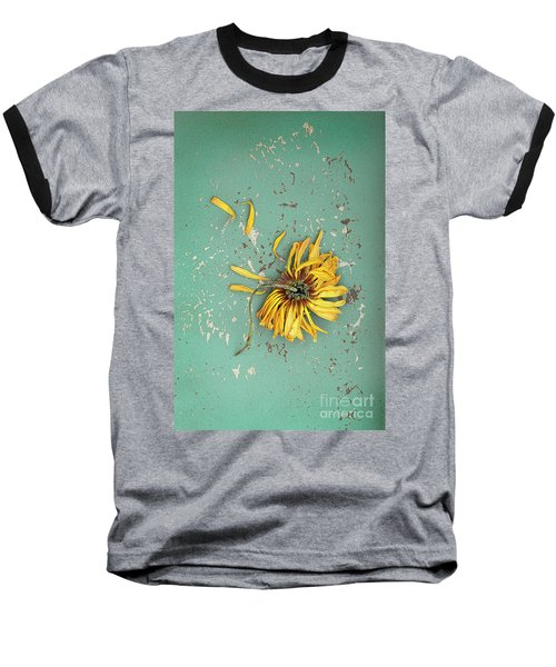 Baseball T-Shirt featuring the photograph Dead Suflower by Jill Battaglia