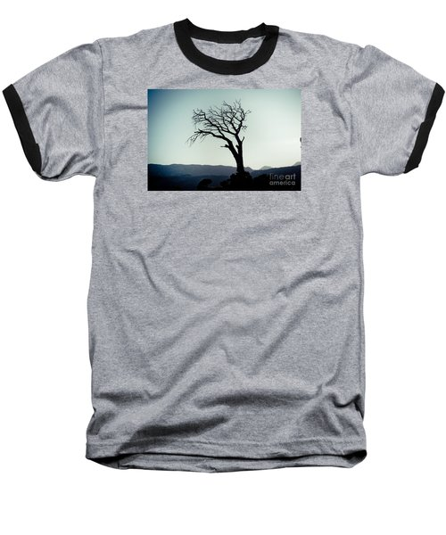 Dead Tree At The Sky Baseball T-Shirt