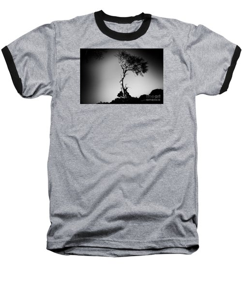 Dead Tree Bw Baseball T-Shirt