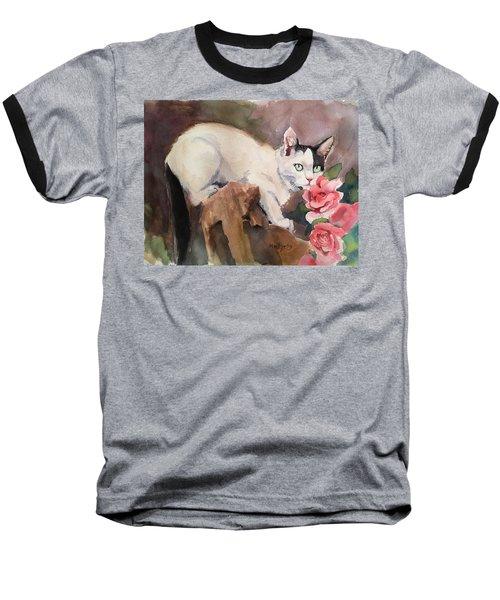 Deano In The Roses Baseball T-Shirt