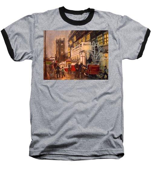 Deansgate With Tram Baseball T-Shirt