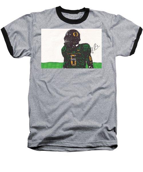 De'anthony Thomas 2 Baseball T-Shirt by Jeremiah Colley