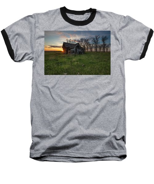 Baseball T-Shirt featuring the photograph Dearly Departed by Aaron J Groen
