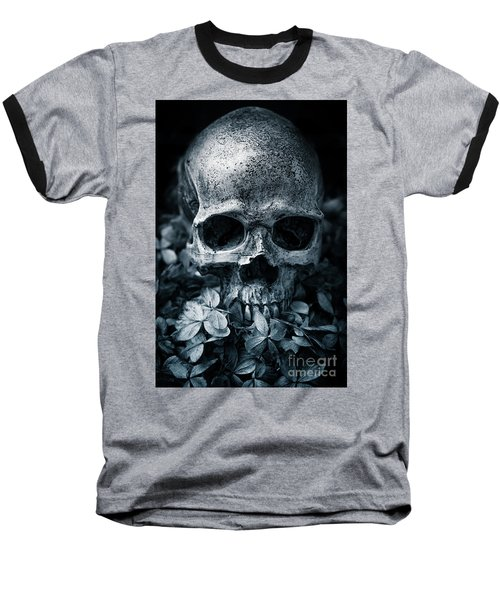 Baseball T-Shirt featuring the photograph Death Comes To Us All by Edward Fielding