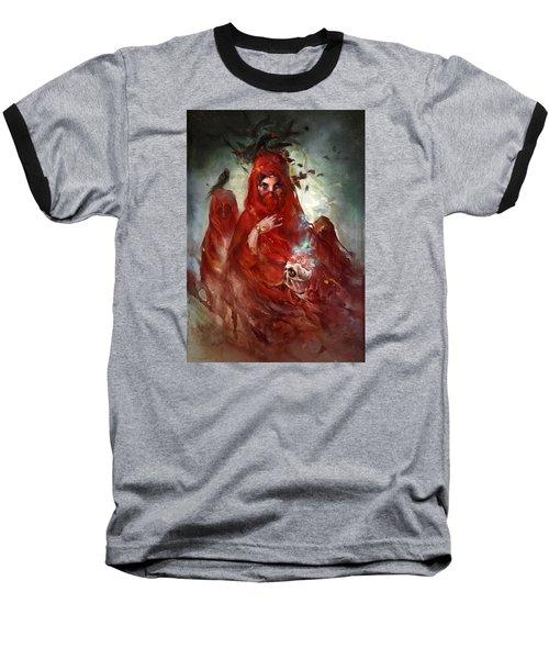 Baseball T-Shirt featuring the digital art Death by Te Hu