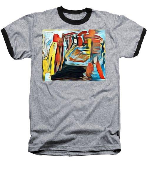 Death To The Titans Baseball T-Shirt