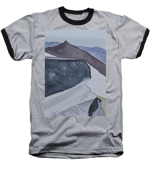 Death Valley Dunes At Sunrise Baseball T-Shirt by Warren Thompson