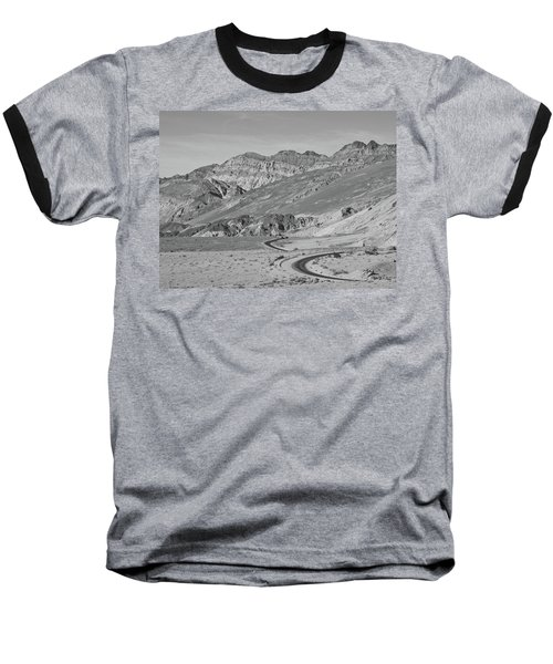 Baseball T-Shirt featuring the photograph Death Valley Road by Frank DiMarco