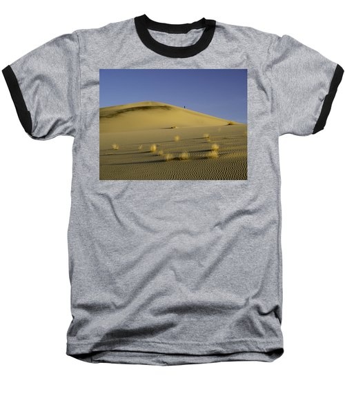 Death Valley Sand Dune At Sunset Baseball T-Shirt