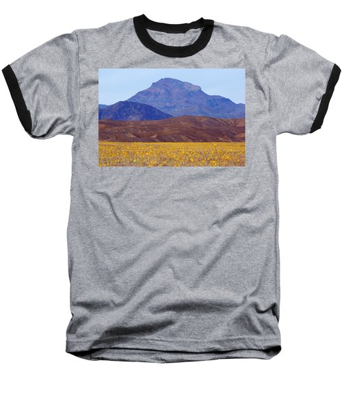 Baseball T-Shirt featuring the photograph Death Valley Superbloom 201 by Daniel Woodrum