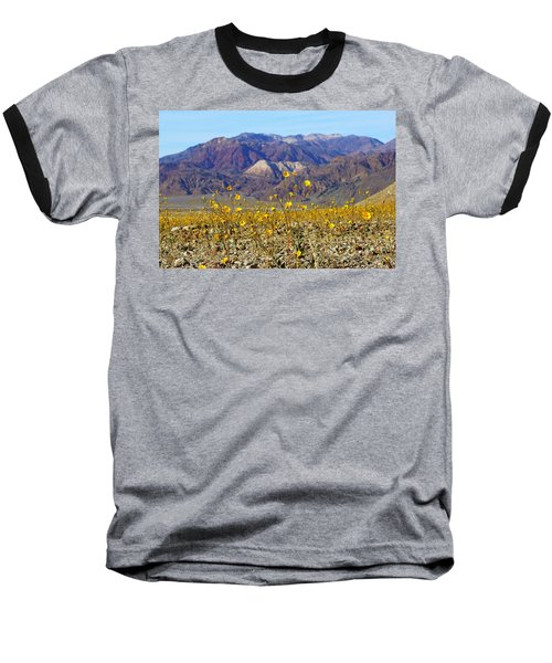 Baseball T-Shirt featuring the photograph Death Valley Superbloom 405 by Daniel Woodrum