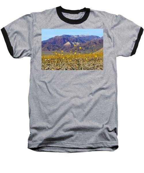 Death Valley Superbloom 405 Baseball T-Shirt