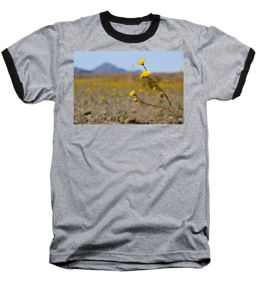 Baseball T-Shirt featuring the photograph Death Valley Superbloom 501 by Daniel Woodrum