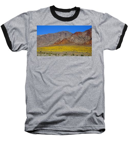 Death Valley Superbloom Baseball T-Shirt