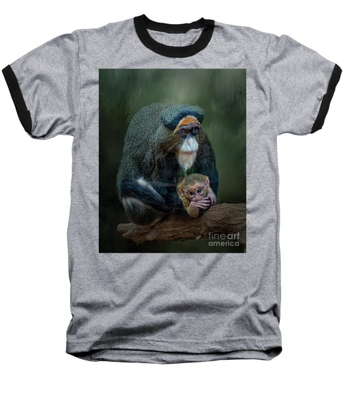 Debrazza's Monkey And Baby Baseball T-Shirt