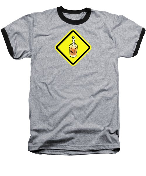 Decanter Hazard Baseball T-Shirt by Stan  Magnan