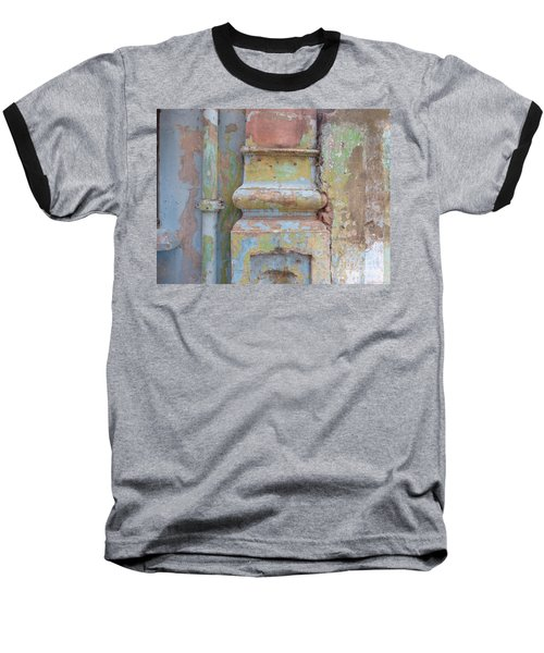 Baseball T-Shirt featuring the photograph Decay by Jean luc Comperat