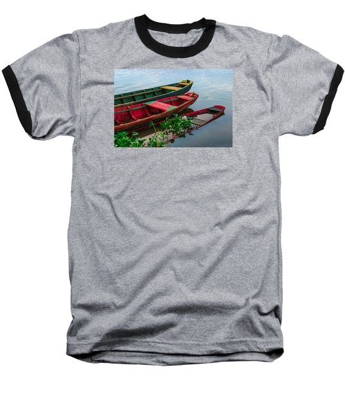 Decaying Boats Baseball T-Shirt